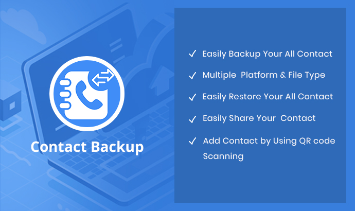 Buy Contact Backup Android App