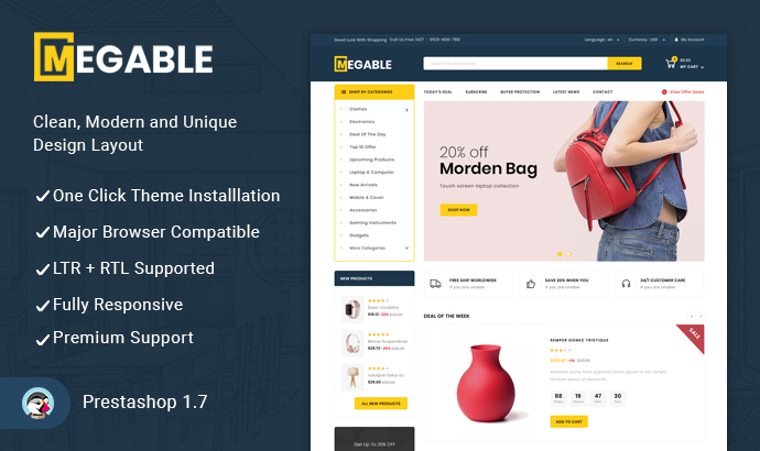 Buy Prestashop Themes