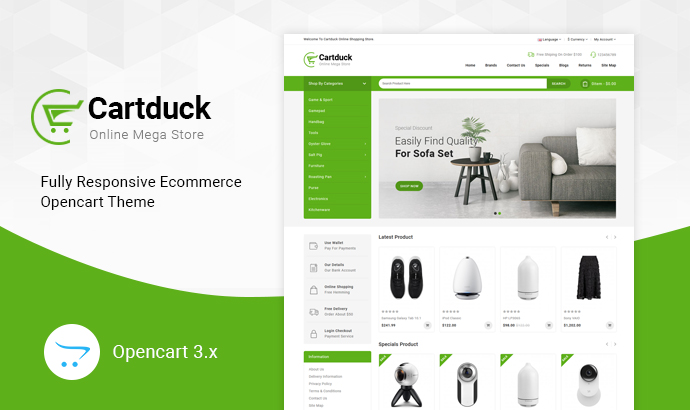 Buy Opencart 3 Themes
